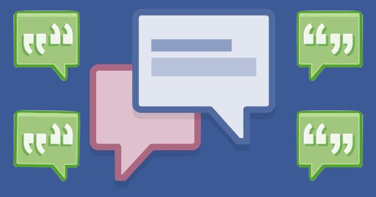 فيس بوك تختبر طريقة جديدة بعرض التعليقات مثل رسائل الدردشة - عالم التقنية