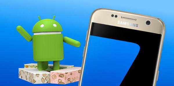 تحديث نوجا يبدأ بالوصول إلى Galaxy S7, S7 Edge في الشرق الأوسط