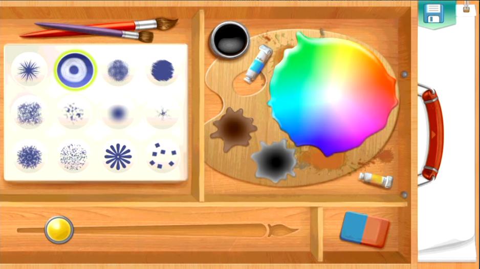 على أندرويد تطبيق الرسم KidSketch المخصص للأطفال