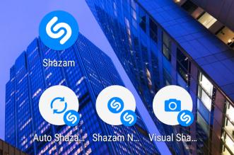 تطبيق Shazam يدعم الآن إختصارات التطبيق على أندرويد 7.1