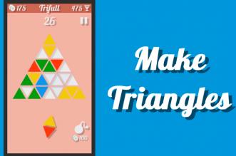 "Trifull لعبة المثلثات الملوّنة على أندرويد ""مسليّة"""