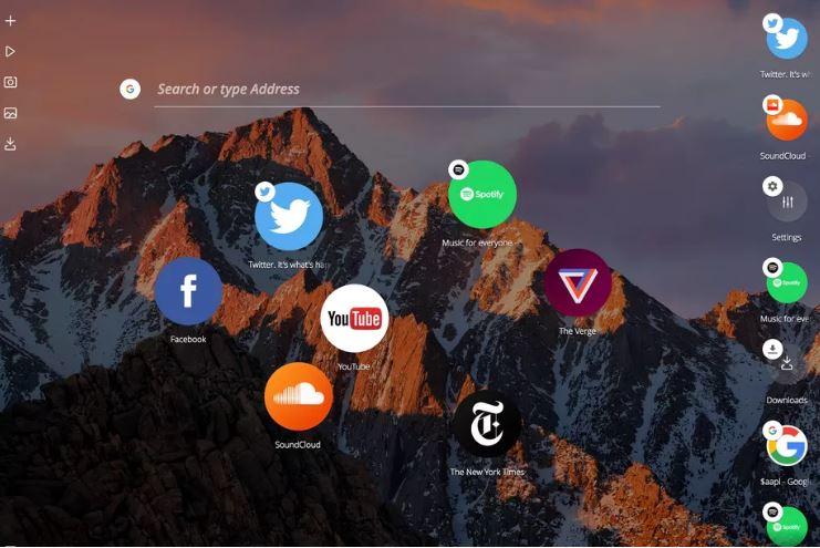 أوبرا تطلق متصفح جديد Neon لتجربة أفكار مستقبلية