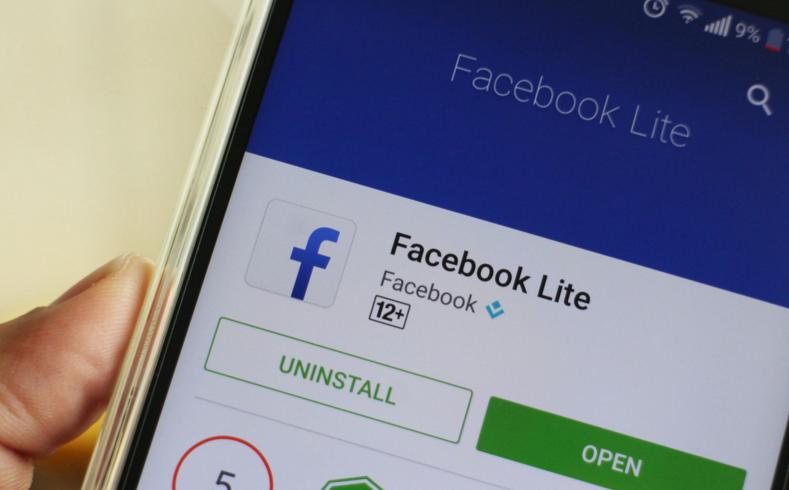فيسبوك لايت لديه الآن أكثر من 200 مليون تحميل عالم التقنية