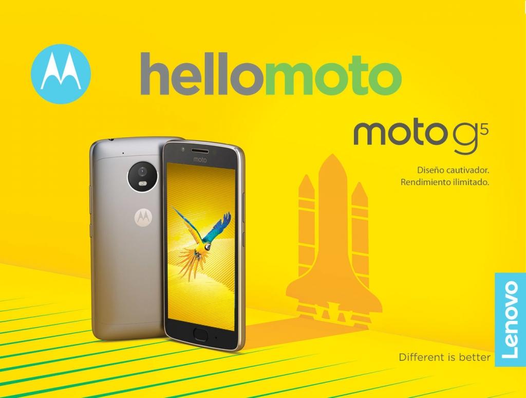 MWC 2017 : لينوفو تكشف عن هاتفي Moto G5 و Moto G5 Plus