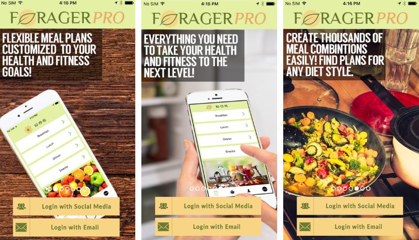 """تطبيق Forager على iOS لإتباع نظام غذائي صحي """"مجّاني لفترة محدودة"""""""