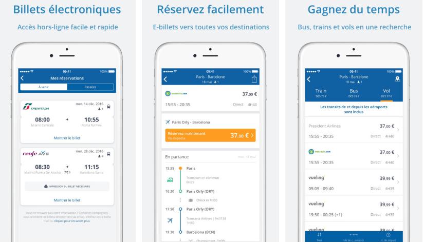 تطبيق GoEuro لحجز ومقارنة تذاكر القطارات والرحلات الجوية في أوروبا