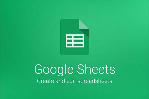 تطبيق جداول البيانات Sheets من قوقل يدعم ميزة تدوير النص