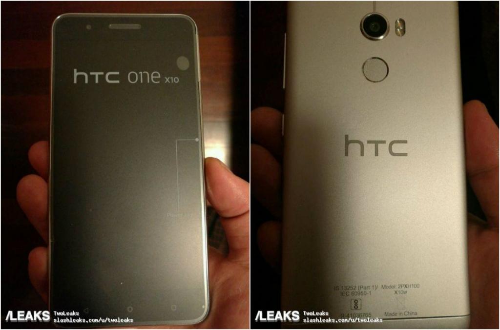 تسريب المواصفات وصور حية لهاتف HTC One X10