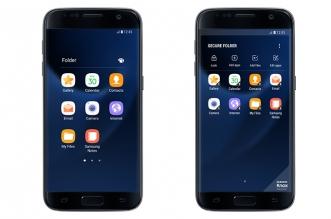 أداة المجلد الآمن Secure Folder متاحة الآن لهواتف Galaxy S7/S7 edge