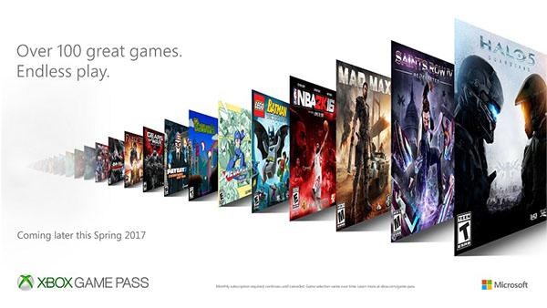 إكس بوكس تطلق خدمة اشتراك بالألعاب برسوم شهرية 10$