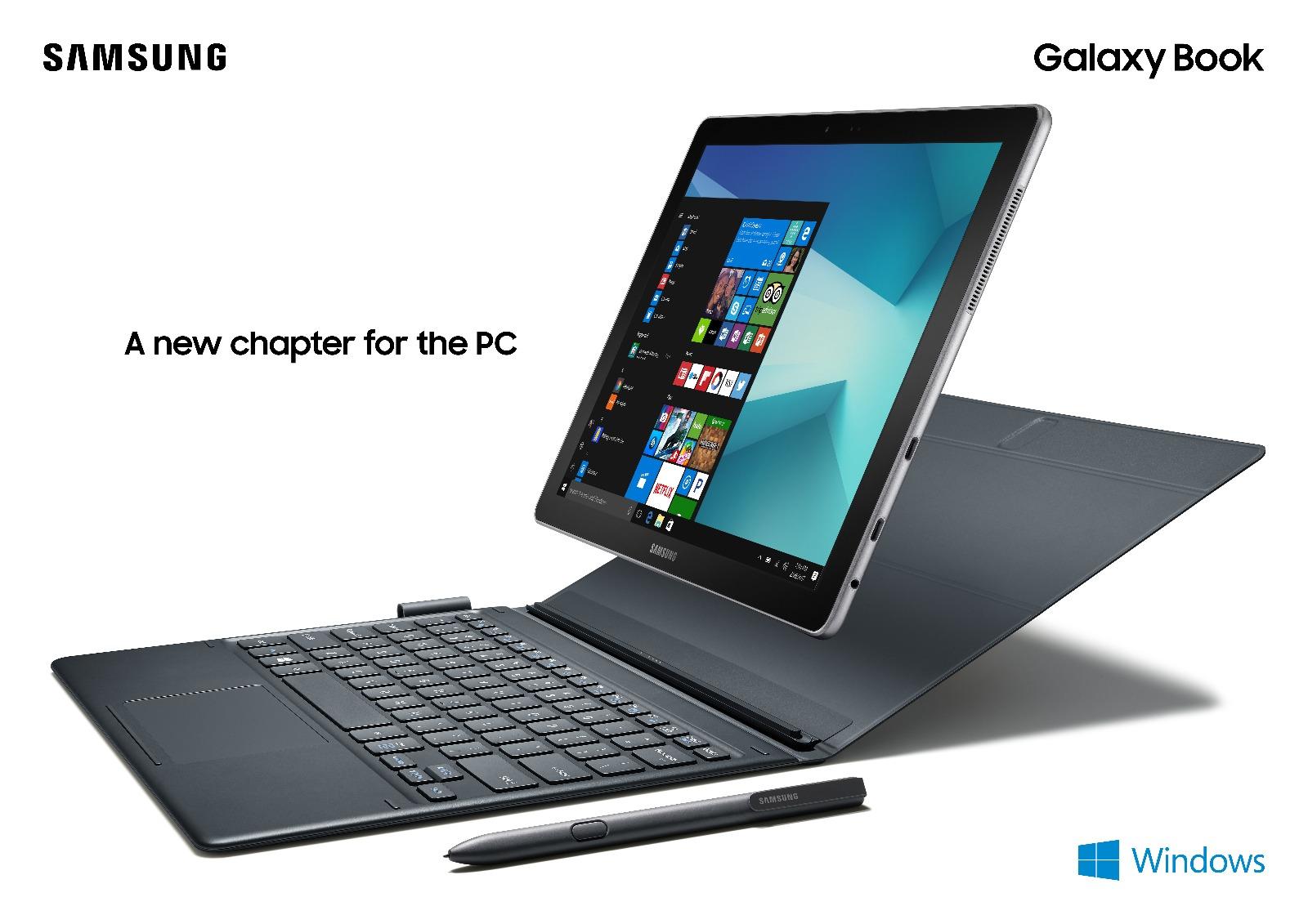 MWC 2017: الإعلان رسميًا عن Samsung Galaxy Book بنظام ويندوز - عالم التقنية