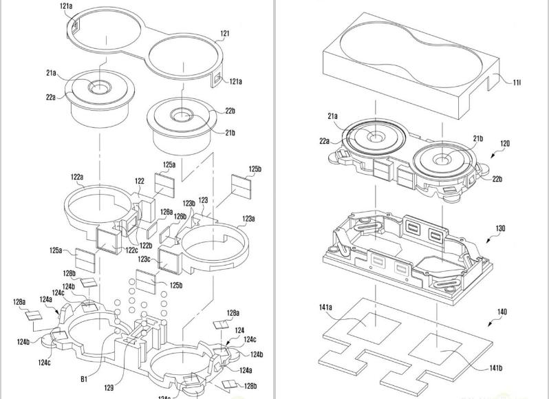 براءة إختراع جديدة تؤكد قدوم جالكسي نوت 8 بكاميرتين مزدوجة