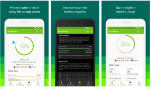 تطبيق AccuBattery لمدك بمعلومات مهمة حول بطارية هاتف الأندرويد