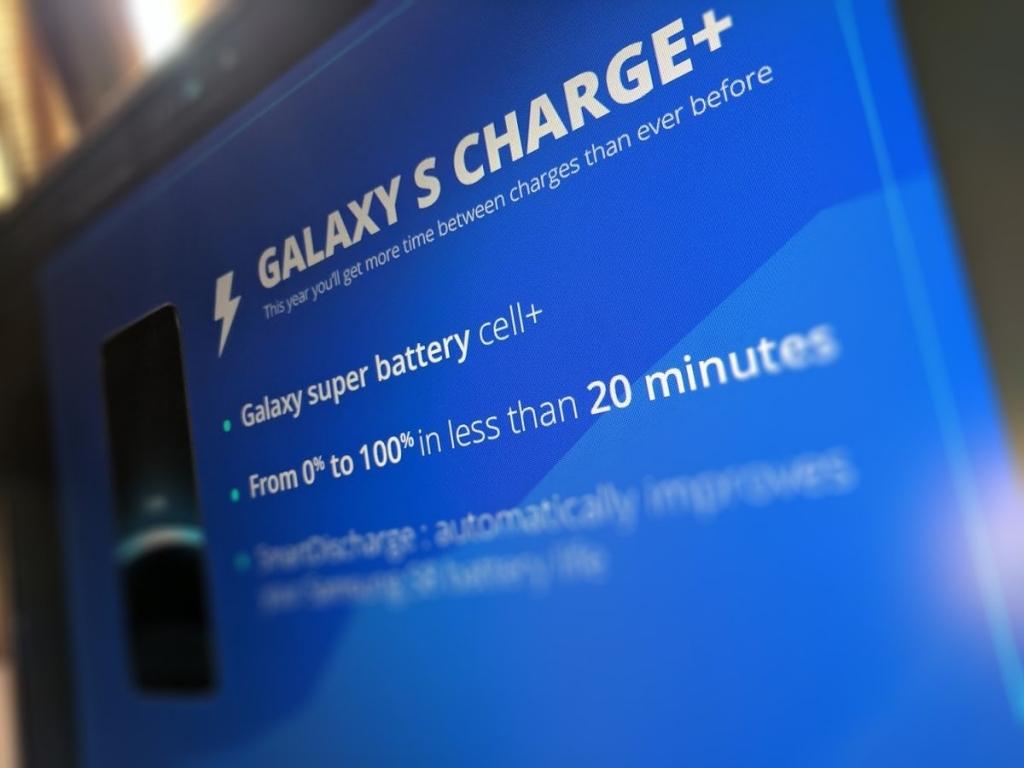 تسريبات : 20 دقيقة فقط لشحن بطارية هاتف جالكسي S8 من 0 إلى 100%