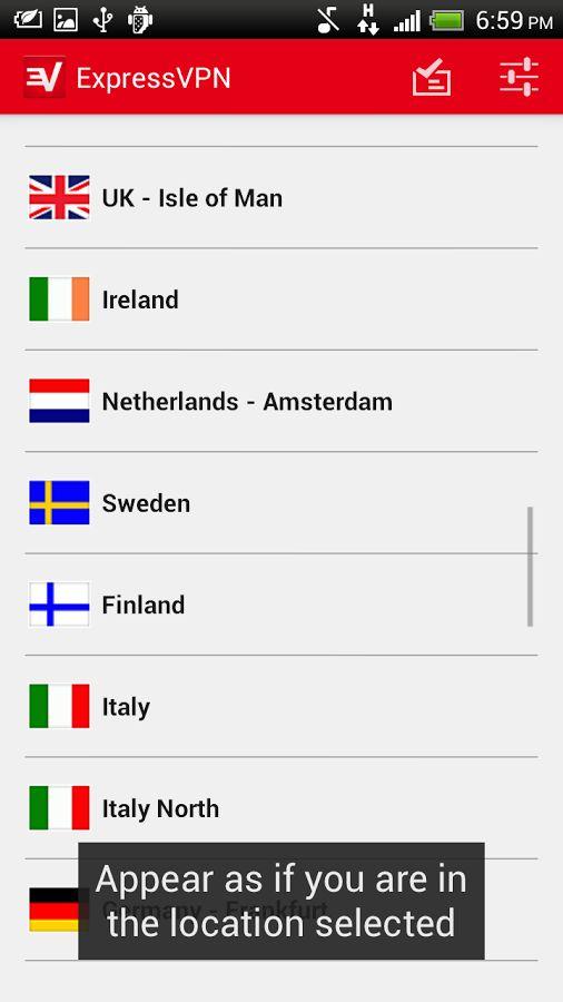تطبيقات VPN المجانية على أندرويد