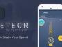 تطبيق Meteor من OpenSignal لقياس سرعة الإنترنت
