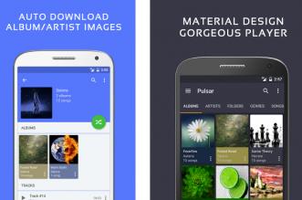 Pulsar أفضل تطبيق بديل لمُشغل الموسيقى الإفتراضي في أندرويد