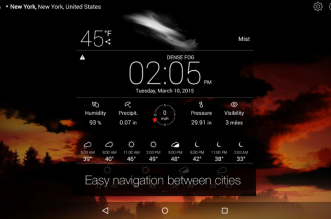 تطبيق الطقس Weather Live على أندرويد متاح مجّانًا لفترة محدودة