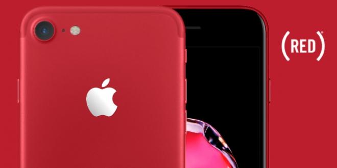 آيفون 7 أحمر