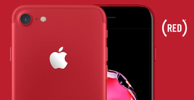 كيف كان سيبدو الآيفون الأحمر مع اللون الأسود في الأمام؟