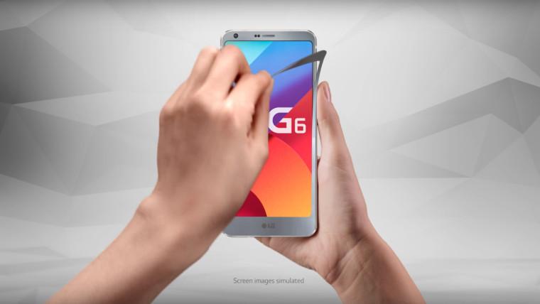 إل جي تطور نسخة مصغرة من G6