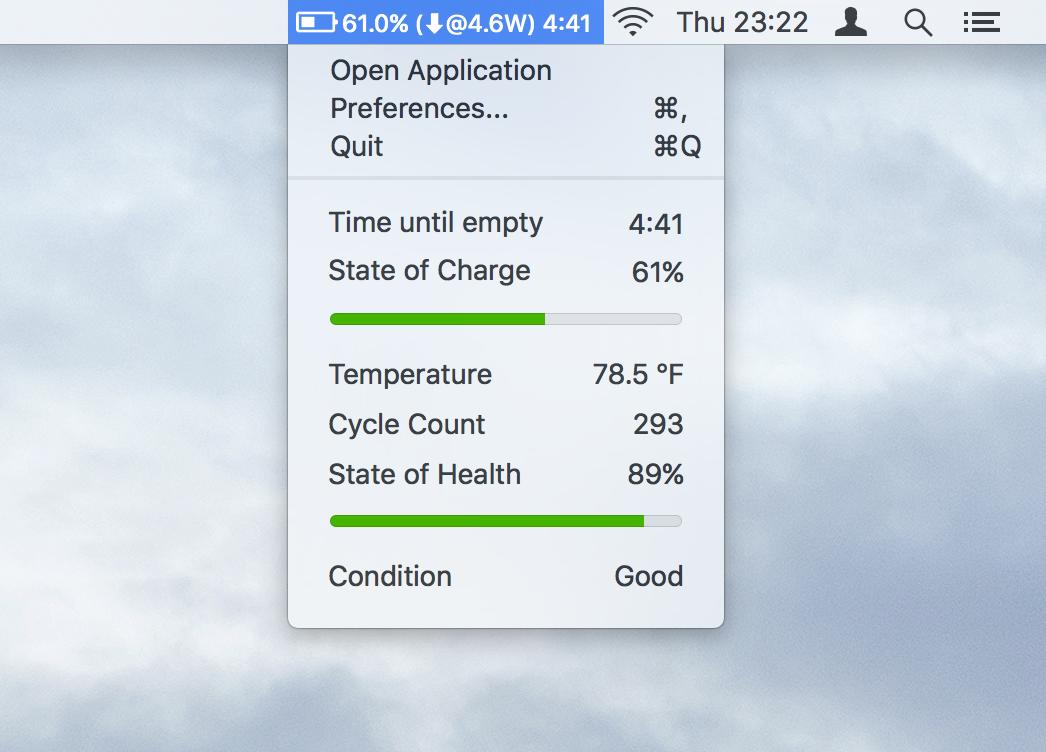 تطبيق Coconut Battery لمراقبة مستوى وحالة البطارية على ماك - عالم التقنية