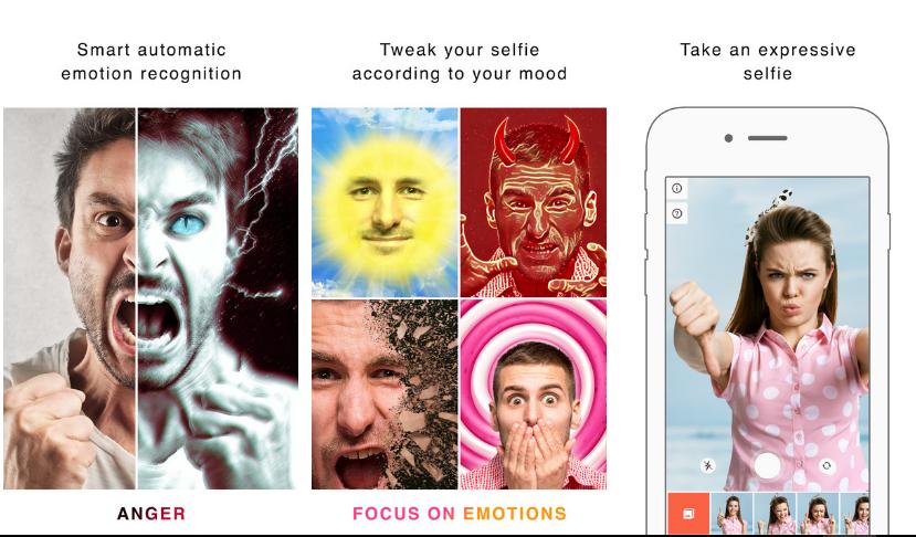 تطبيق Emolfi لمعالجة صور السيلفي بالإعتماد على الشبكات العصبونية