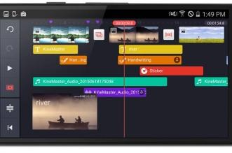 تطبيق KineMaster أحد أفضل تطبيقات تحرير الفيديو في أندرويد