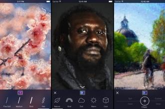 تطبيق Oilist على iOS لتحويل صورك إلى لوحات زيتية