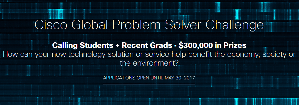 لجميع الشباب والطلاب فوق سن الـ 18: سيسكو تطلق مسابقة تحدي حل المشاكل العالمية