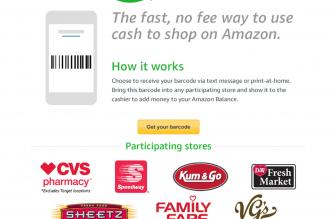 amazon cash