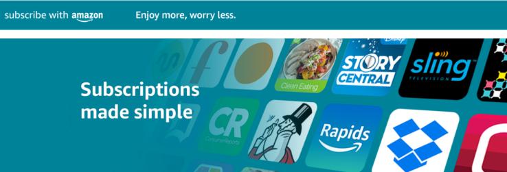 أمازون تطلق سوق بيع الإشتراكات الرقمية