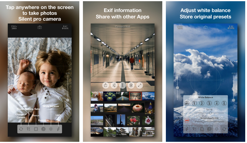 Camera RX أفضل تطبيق كاميرا لهواتف آيفون 7