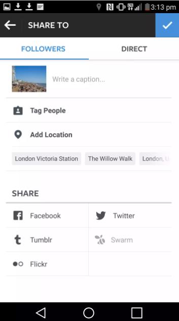 انستغرام تلغي التكامل مع فليكر و Swarm