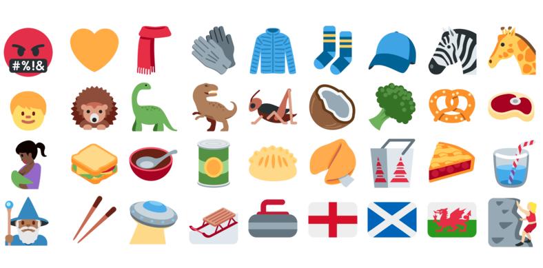 تويتر تضيف حزمة الرموز التعبيرية الجديدة Emoji 5.0