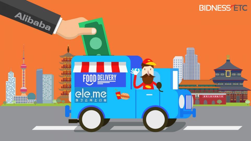 علي بابا تستثمر مليار دولار في خدمة توصيل الطعام Ele.me