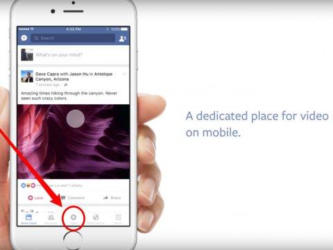فيس بوك تطلب فيديوهات حصرية لمنافسة يوتيوب