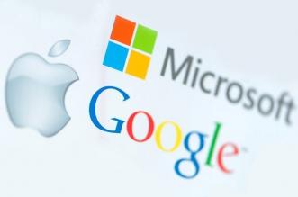 آبل قوقل مايكروسوفت