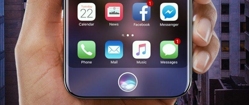 مُستشعر البصمة في آيفون 8 سيكون مُدمج داخل الشاشة