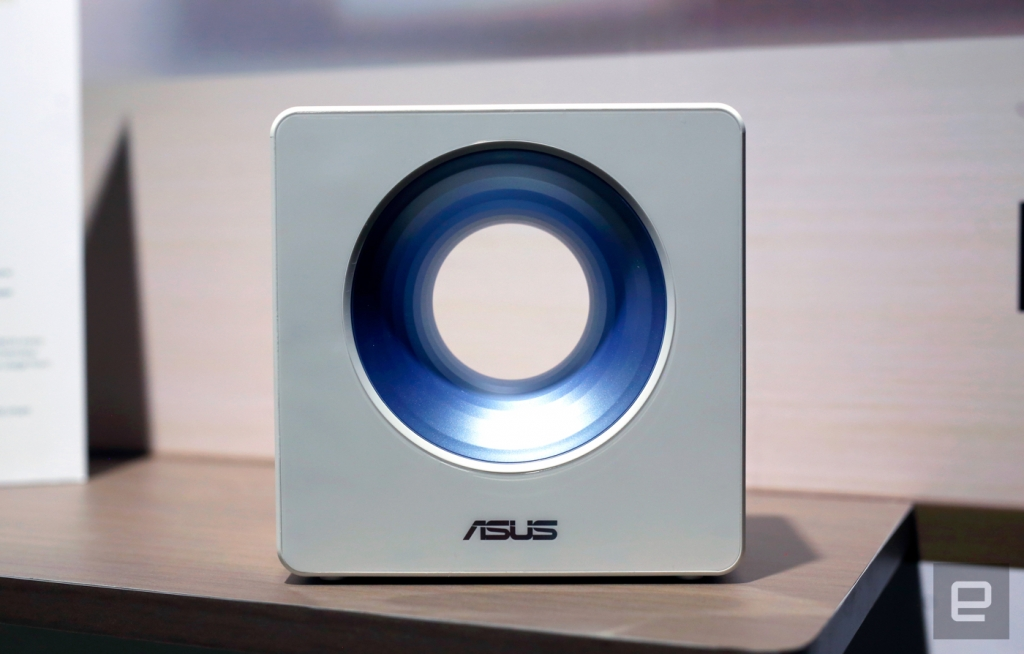 Blue Cave راوتر جديد عصري من شركة ASUS
