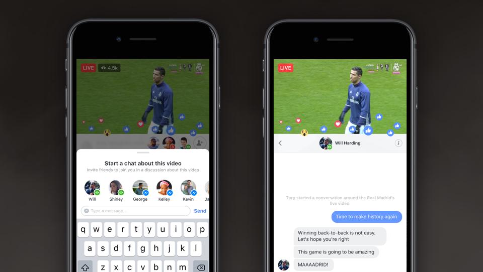 البث المُباشر في فيسبوك يحصل على ميّزات جديدة للتفاعل مع الأصدقاء