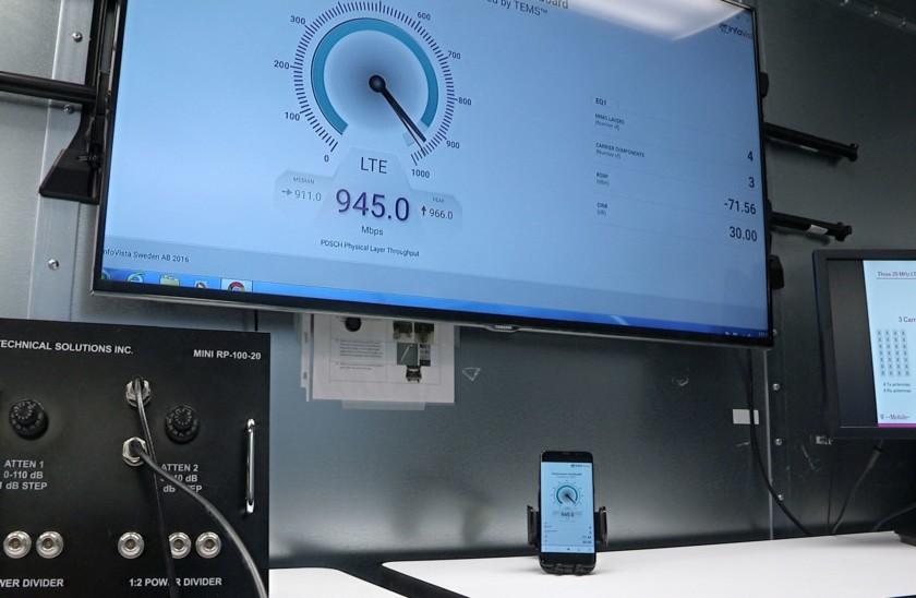 تقنية غيغابت Gigabit وتوفير سرعة إنترنت على الهواتف تتجاوز سرعة الألياف الضوئية المنزلية