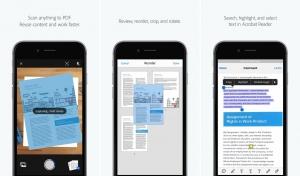 أدوبي تطلق تطبيقها الماسح الضوئي Adobe Scan على iOS