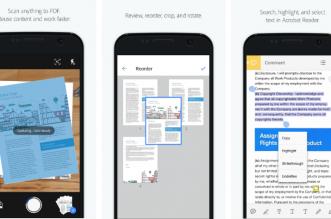 أدوبي تطلق تطبيقها الجديد Adobe Scan لمسح الوثائق وحفظها سحابيًا