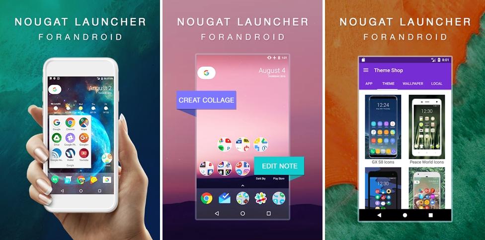 تطبيق اللانشر الجديد N Launcher والمستوحى من أندرويد نوجا