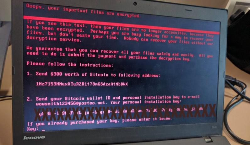 برمجية انتزاع الفدية Petya تضرب العالم بإنتشار أكبر من WannaCry
