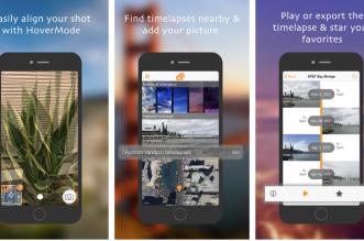 TimeLens تطبيق لتجربة التايم لابس من على آيفون