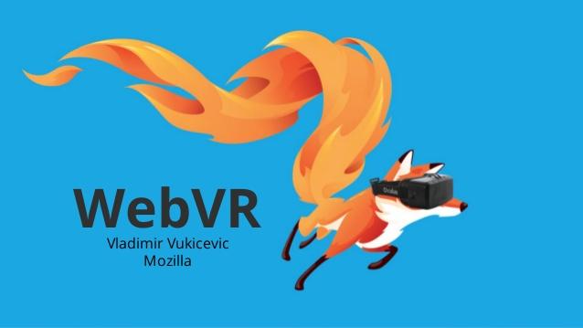 الواقع الافتراضي فايرفوكس