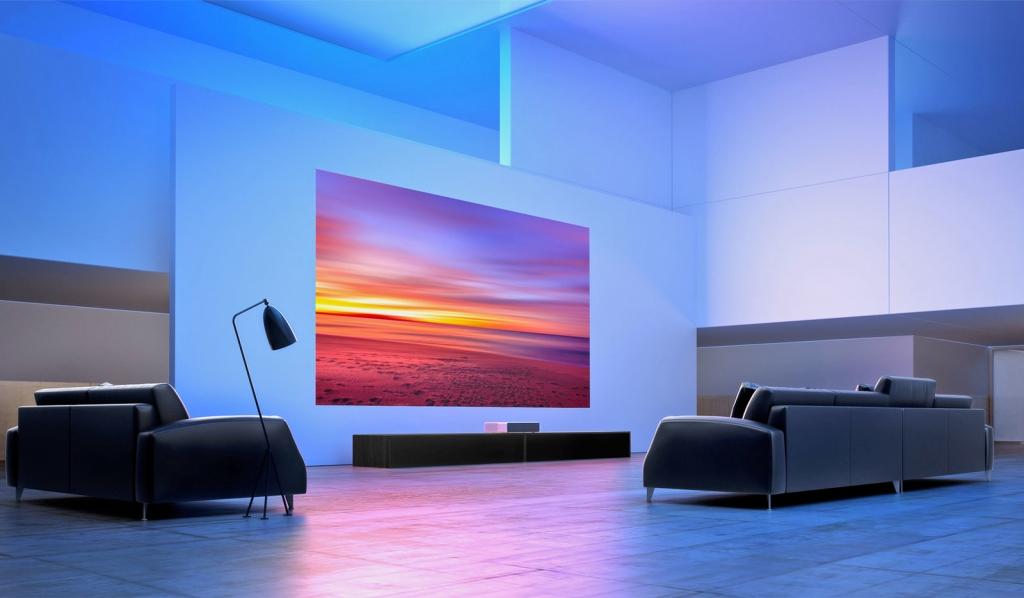 شاومي تكشف عن عارض ضوئي منزلي Projector بقدرات سينمائية
