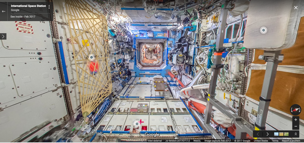 خدمة ستريت فيو تصل إلى المحطة الفضائية الدولية